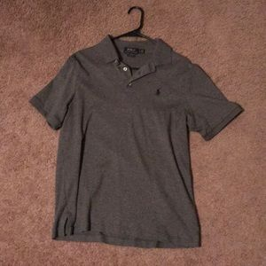 Classic Fit Ralph Lauren Polo Grey